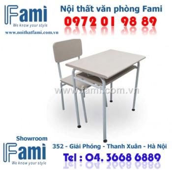 Bộ bàn ghế học sinh F-BHS-01S F-GHS-01S - Nội thất văn phòng