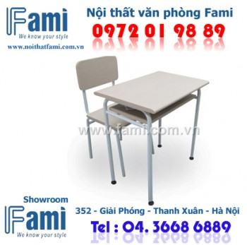 Bàn ghế học sinh F-BHS-02S, ban ghe hoc sinh F-BHS-02s, ban ghe hoc sinh Fami,F-BHS-02s