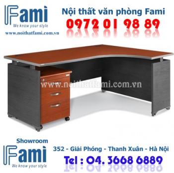 Bàn làm việc Fami CP1800HR_DC - Nội thất văn phòng